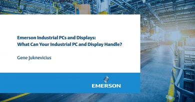 What can Industrial PCs and displays handle?